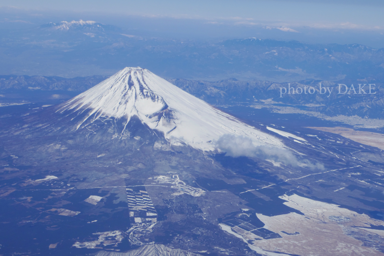 やっぱり富士山って心に「ドン」ってくる。              32/100
