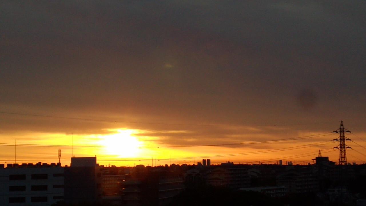 今日も、新しい夜明け